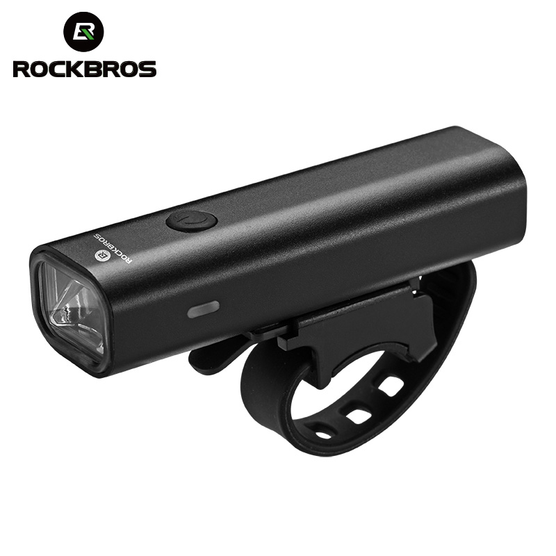 ROCKBROS Bicycle Light USB Charge Rainproof Safety Front Lamp Cycling Ultralight Flashlight Outdoor Night-riding <font><b>Bike</b></font> <font><b>Equipment</b></font> image