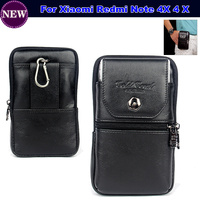 For Xiaomi Redmi Note 4X 4 X Top Quality Exquisite Simplicity Fashion Leather Vertical Belt Clip