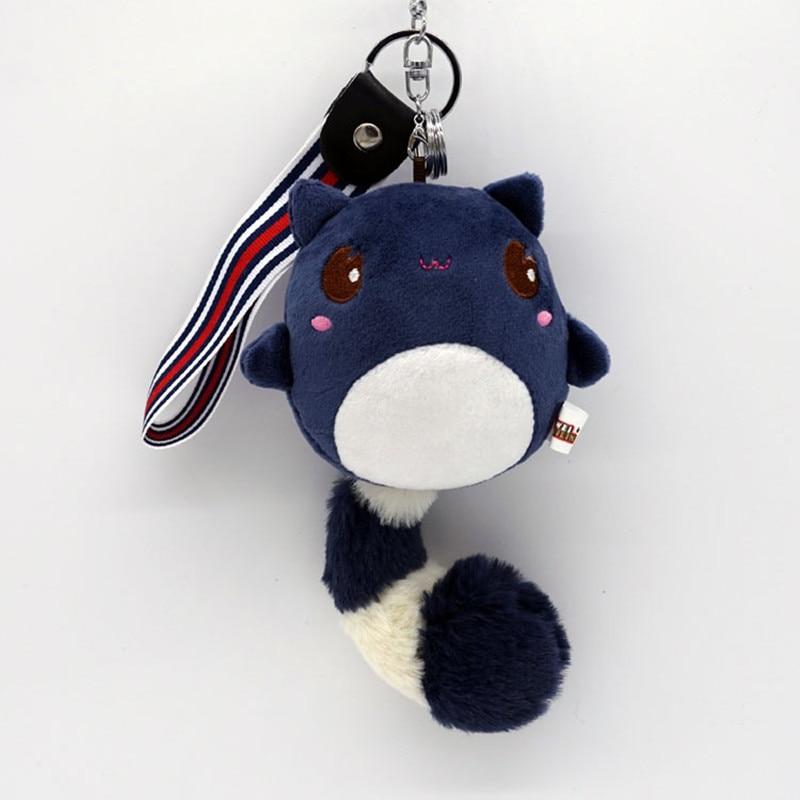 2017 cut rato chaveiro coelho pom pom encantos chaveiros em saco para sacos  de anime cd6f2facaf