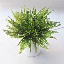 Искусственное растение яркое персидское украшение из травы для свадебных домашних вечерние MU
