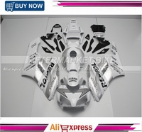 ABS Plastic Complete CBR1000RR 2004 Silver Repsol Fairing Kit 2005 For Honda Injection Moulding