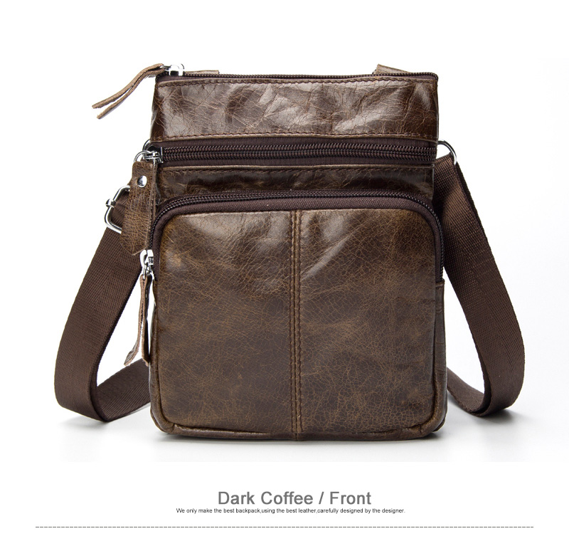 Westal Shoulder Messenger Women Men Bag Genuine Leather Office Work Business Briefcase For Handbag Male Female Portafolio Retro