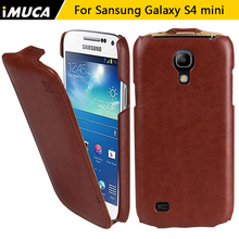 IMUCA Flip Case для Samsung Galaxy S4 mini Case Cover для Samsung S4 mini i9190 Кожаный Case для Samsung Galaxy S4 mini крышка