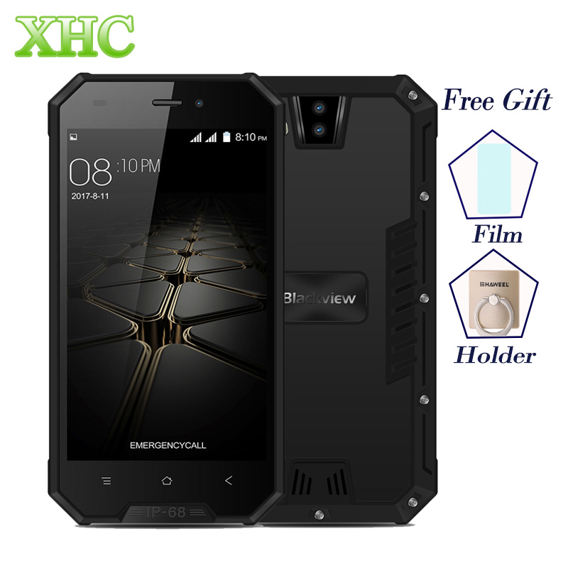 Blackview BV4000 PRO IP68 Waterproof Smartphones Dual SIM MT6580A Quad Core 4 7inch Android 7 0