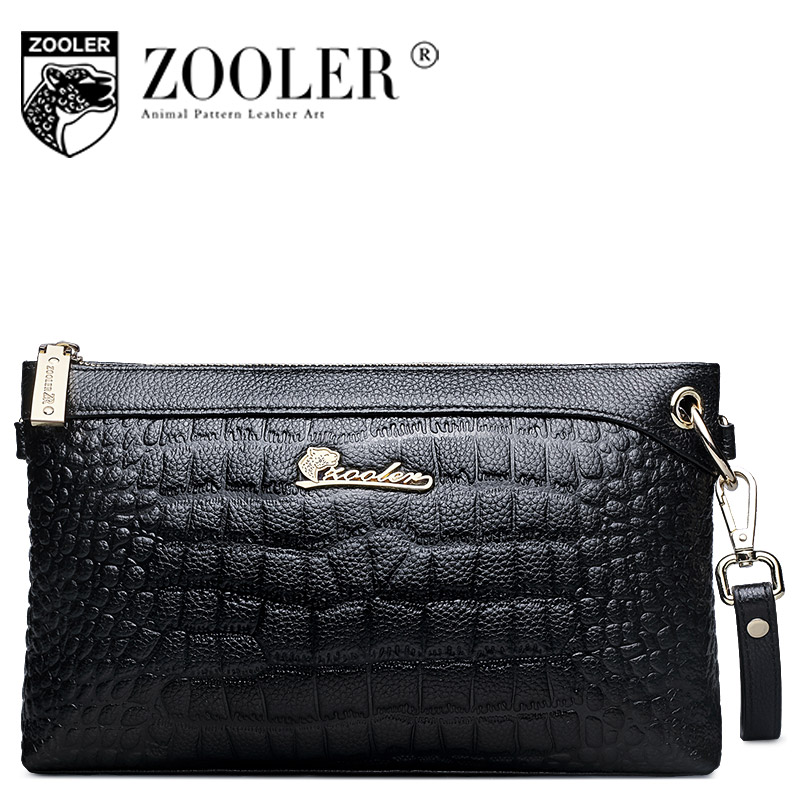 ZOOLER Brand women messenger bags genuine leather bag Luxury fashion high quality clutch bag Solid color free shipping#265 free shipping new fashion brand women s single shoulder bag lady messenger bag litchi pattern solid color 100