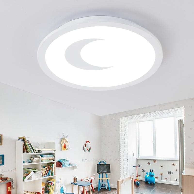Modern Acrylic Ceiling Lights Led Bedroom Living Room With Remote Control Lamp Decor Home Lighting Fixtures White Iron 110-220V round led ceiling light white modern acrylic ceiling lamp dimmable with remote control for kids bedroom lighting fixtures