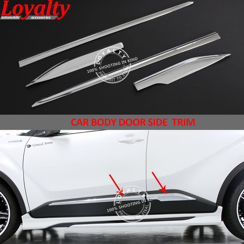 Awnings & Shelters Cheap Sale Car Styling 4pcs Abs Chromed Rear Window Wiper Decorative Cover Trim For Toyota C-hr Chr 2016 2017 2018