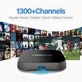S912 T95Rpro Android 6.0 Caixa De TV Amlogic 2/8 GB WIFI HDMI 4 K * 2 K HD Smart Set Top Box com Frete 1300 Árabe IPTV Canais Europa REINO UNIDO