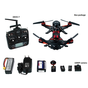 Walkera Coureur 250 Avance avec DEVO 7 GPS FPV RC Quadcopter RTF 2.4 GHz (avec 1080 P Caméra & OSD & Sac À Dos & Batterie et Chargeur)