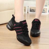 MMY танцевальная обувь для девочек, спортивные мягкие дышащие женские туфли для репетиций современные танцевальные туфли для джаза, кроссов...