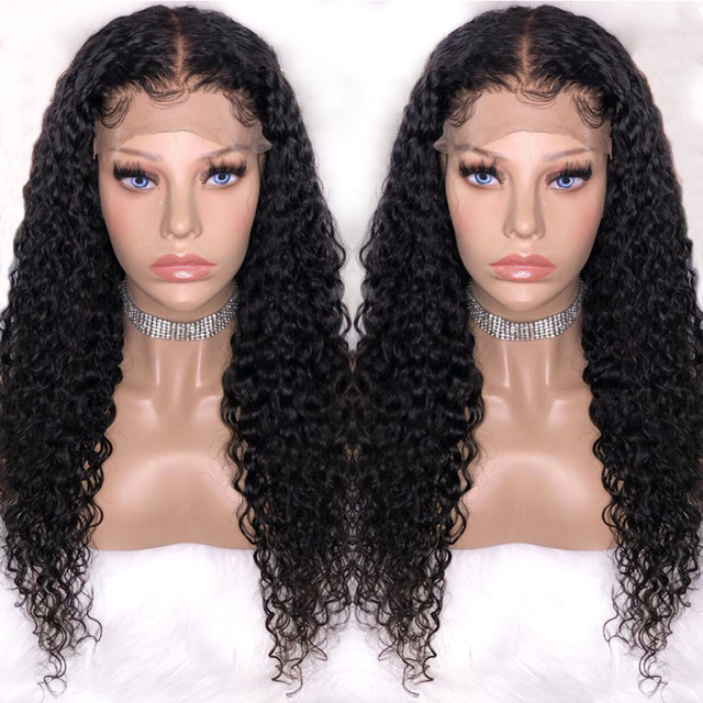 Maxine Hair Water Wave Wig Lace Front Human Hair Wigs For Black Women Pre Plucked With Baby Hair Remy Brazilian Lace Wig 13x4 1