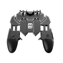 AK66 MEMO Mobile Phone Game Handle For PUBG Six Finger All-In-One Controller Gamepad L1 R1 Trigger