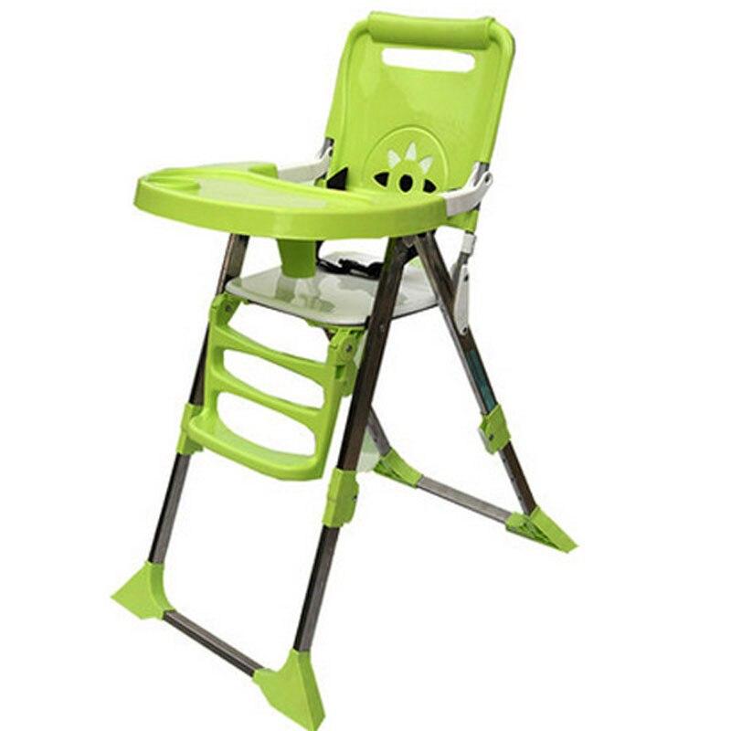Chaise bébé pour enfants Portable bébé siège bébé Table à dîner réglable chaises pliantes pour enfants alimentation chaises hautes