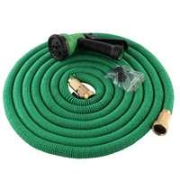 Magic Flexible Hose Expandable Garden Hose Reels Garden Water Hose Car Pipe Watering Connector Blue Green 50FT