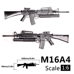 1/6 1:6 M16A4 Automatic Rifle