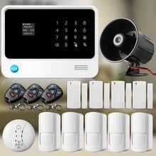 Etiger Inalámbrica WiFi GSM GPRS cámara Casera ip wifi Sistema de Alarma de Seguridad con cable ruidosamente Sirena 433 MHz