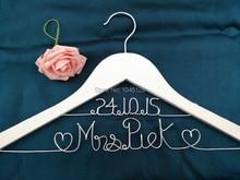 Bridesmaid Hanger Line Name
