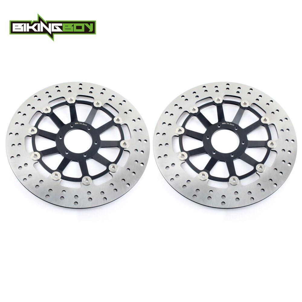 BIKINGBOY Front Brake Discs Disks Rotors For HONDA CBR 1100 XX Blackbird 1999 2008 CB 1100 SF X 11 2000 2004 CB 1300 / F / F1