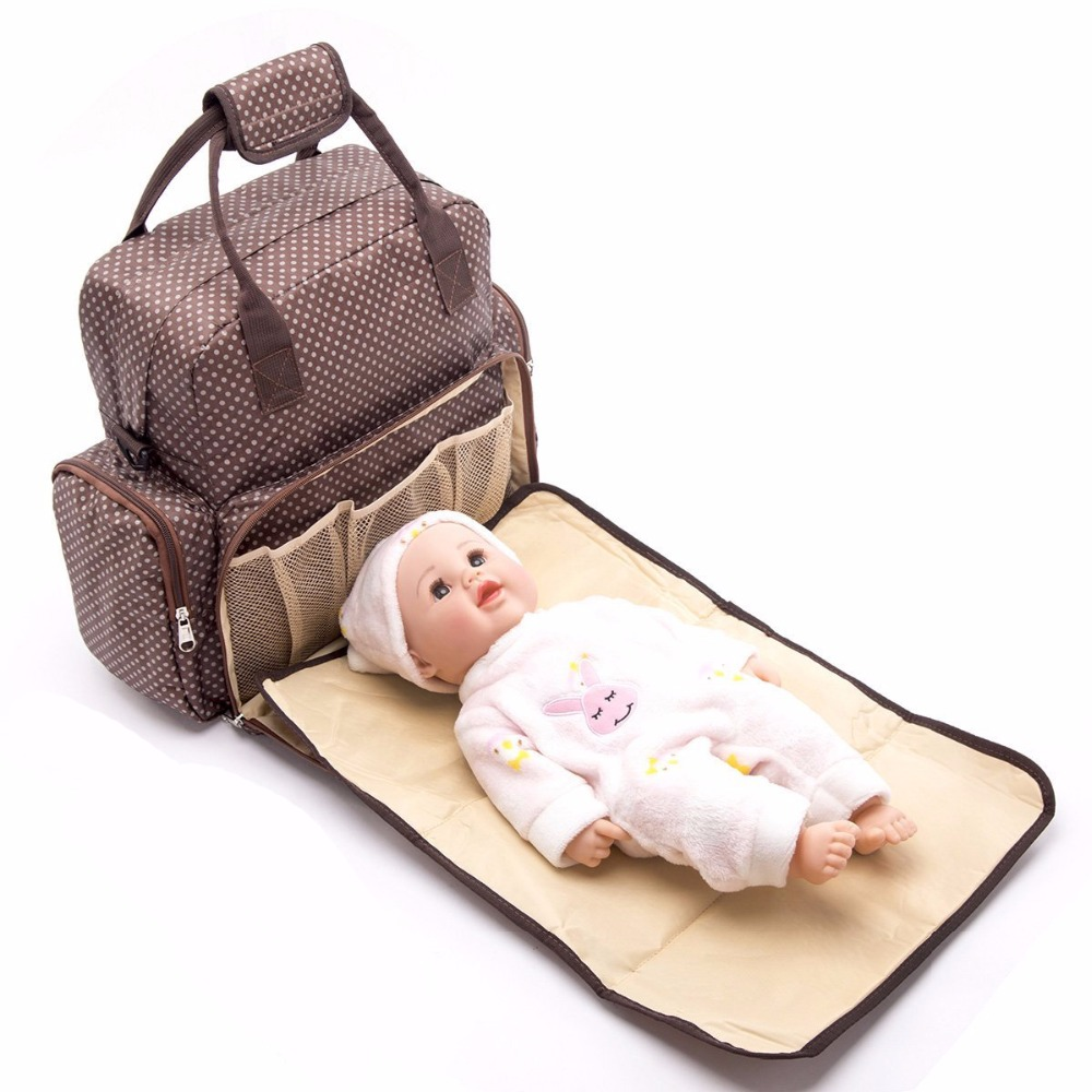 New Upgraded Fashion Mummy Maternity Bag with Nappy changing pad Large Capacity Baby Bag Travel Backpack Nursing Bag Baby Care brand new original wltoys a949 a959 a969 a979 k929 1 18 rc car lipo battery 7 4v 1100mah a949 27 part for wltoys rc car part