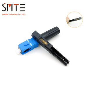 Image 2 - 100 개/몫 UPC ZF NPFG 8802 TLC/3 XF 5000 0322 3 55mm 고속 커넥터 SC ZF 광섬유 커넥터 SC/ZF FTTH 광섬유 SC 커넥터