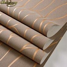 Beibehang papel de pared para sala de estar, papel pintado con curvas y rayas, Moderno