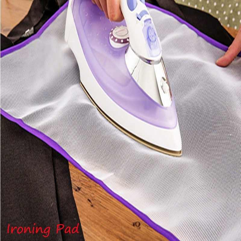 1 pc Cloth Cover Protect Heat Resistant Ironing Pad High Temperature Garment Clothing Ironing Board