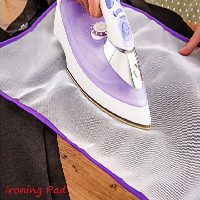 1 Pc Ironing Pad Protective Cloth Insulation Against High Temperature Hot  Household Portable Ironing Pad