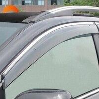 For Honda CR V CRV 2017 2018 Plastic Window Visor Sun Guard Rain Vent Deflector Shield