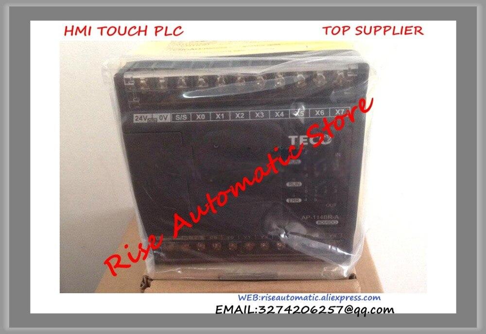 New Original PLC Programmable Logic Controller AP-114BR-A PLC 100-240VAC NPN/PNP 8 point Relay 6 point AP  цены