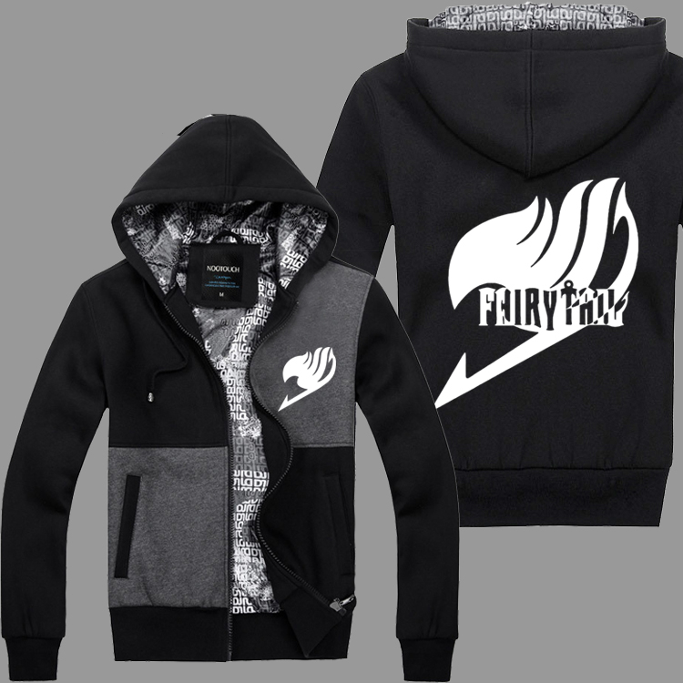 Fairy Tail Natsu Dragneel Saber Tooth Happy anime cos Casual Cotton Hoodies jacket Cosplay Costume