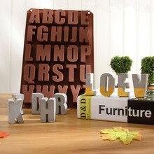Silicone Concrete Alphabet Mold Cement Letters Mold