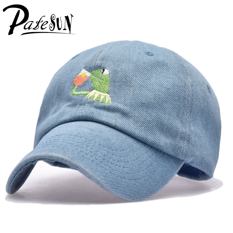 Frog Tea Snapback None Of My business Dad Hat Lerbon James casquette kenye Big Daddy hat Men Women Girl's Baseball cap
