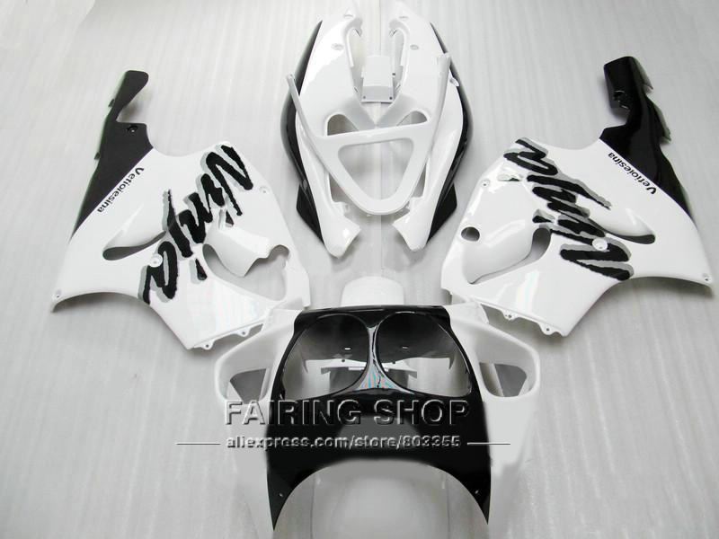 Customize free Fairing kit For Kawasaki ninja ZX7R 1996 1999 1998 2003 ( white ) 96 03 Fairings a13 bob litterman quantitative risk management a practical guide to financial risk