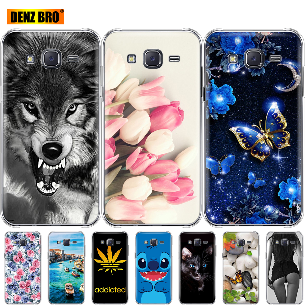 For <font><b>Samsung</b></font> Galaxy J7 2015 Case bumper soft Silicone Cover For <font><b>Samsung</b></font> Galaxy J7 2015 <font><b>SM</b></font>-J700F 5.5 inch J700 J7008 J700F <font><b>J700H</b></font> image