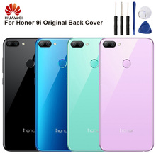 Huawei Original Back Battery Cover Housing For Huawei Honor 9i Battery Back Rear Glass Case huawei original back battery cover housing for huawei honor 8x honor8x battery back rear glass case