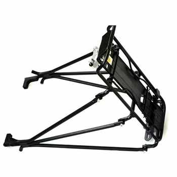 Good deal Cycling MTB Aluminum Alloy Bicycle Carrier Rear Luggage Rack Shelf Bracket for Disc Brake/V-brake Bike Black - DISCOUNT ITEM  17% OFF All Category