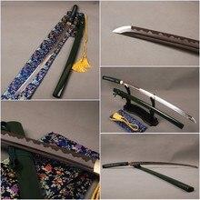 Delicate Handmade 1060 Carbon Steel Japanese Sword  Katana Full Tang Sharp Edge Knife  Vintage Home Metal Decor