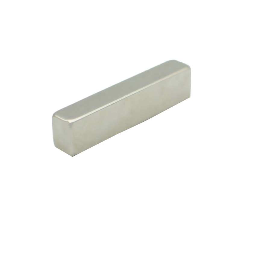 4-60pcs N42H NdFeB Magnetic Block 50x9x12 mm Poles on Sides High Temp Strong Neodymium Rare Earth Permanent Industrial Magnet