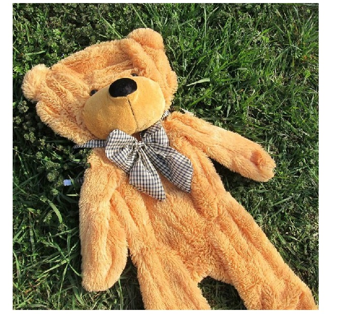 160cm/180cm/200cm Semi-finished products teddy bear skin,Plush Bear Skin,Plush Toys, 5 colors factory outlet