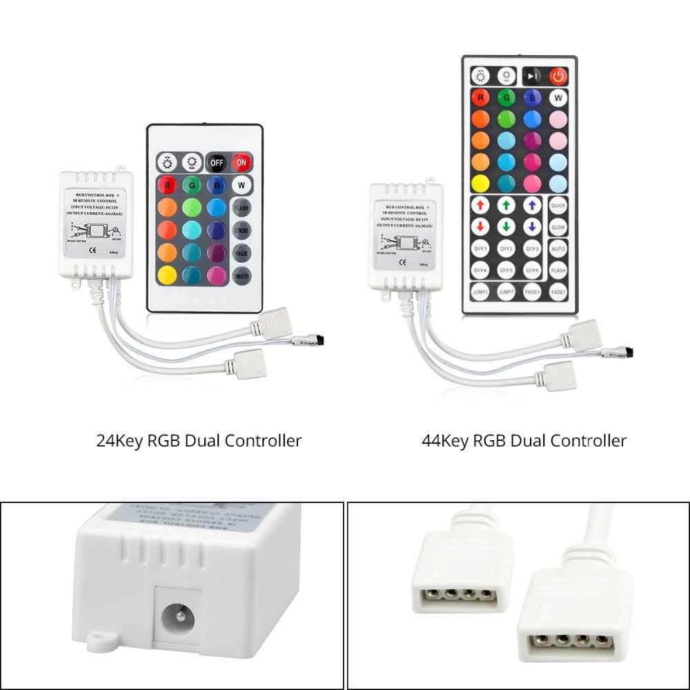 DC 12 V Wifi Bluetooth RF IR kontroler RGB bezprzewodowy pilot zdalnego sterowania dla 5050 SMD RGB taśmy LED światła