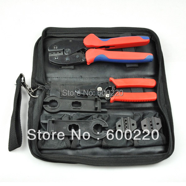 LY-K2546B Solar Panel Tool Kit, PV Tool set MC4 crimping tool wholesale набор инструмента selta 2546