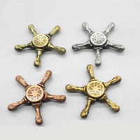 Hot Tri Spinner Aluminum Fidget Toy Alloy EDC Hand Spinner For Autism And ADHD Rotation Time