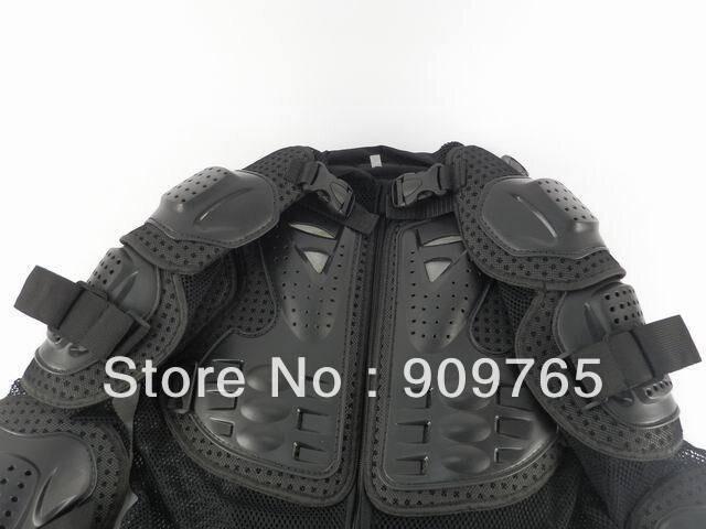 1 pcs noir adulte armure corporelle veste moto garde poitrine protecteur moto accessoires pièces - 6