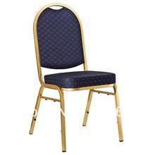 Горячая Распродажа Штабелируемый стальной Банкетный стул LUYISI2010