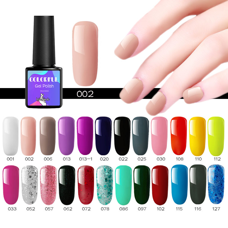29 cores Verniz de Unhas de Gel UV Gel Unha Polonês Semi Permanente Sorte Art Lâmpada Led Unha Polonês Embeber Off Inodoro orgânica Gel UV