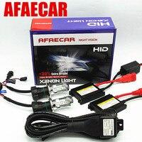 AFAECAR 55W H4 3 Bi xenon Bixenon hid kit hi lo 12V DC 55W 6000K 8000K 4300K