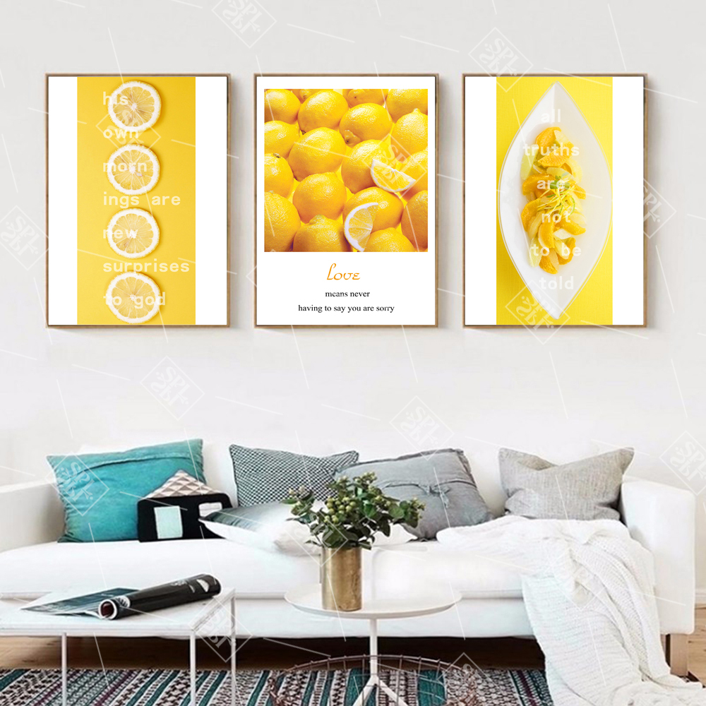 best yellow kitchen wall canvas painting near me and get