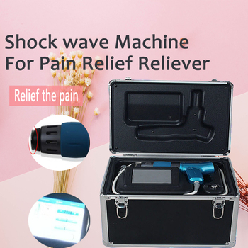 High Tech Newest Shock Wave Machine/Shockwave Therapy Equipment For Whole Body Pain Therapy Body Pain for ED