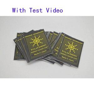 Image 1 - 50 stücke Bio Skalare Energie Saver Chip Voraus Technologie Schild Anti Strahlung Aufkleber skalare energie chip 4g 5g wifi schutz