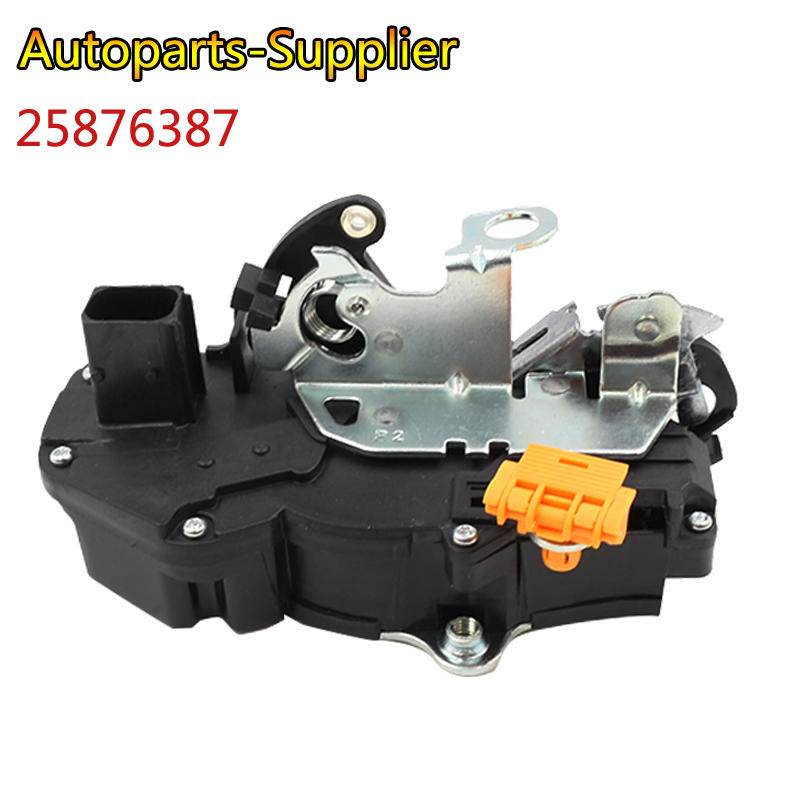 25876387 Right Front Door Latch Actuator For 07 -12 Silverado Sierra <font><b>Tahoe</b></font> Auto parts image